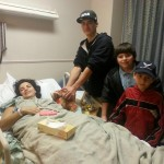 Nathan Valentin sister in hospital
